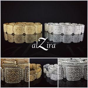 Marokkaanse Riem Zilver & Goud – Anergui