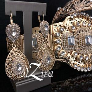 Taqlidi Marokkaanse Gouden Oorbellen – Samia