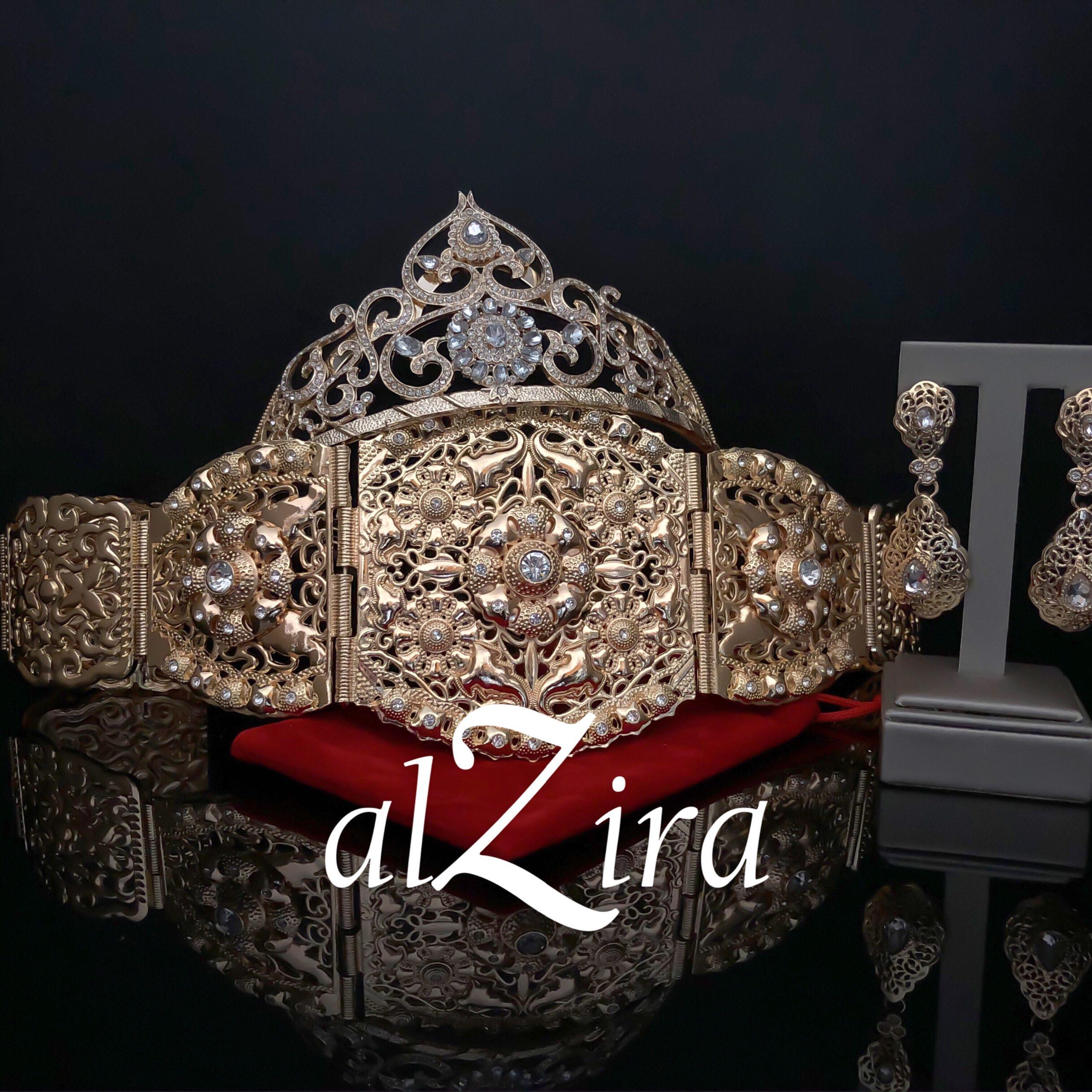 Gouden Marokkaanse Bruidssieraden Set – Kaliza